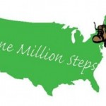walking for character, one million steps